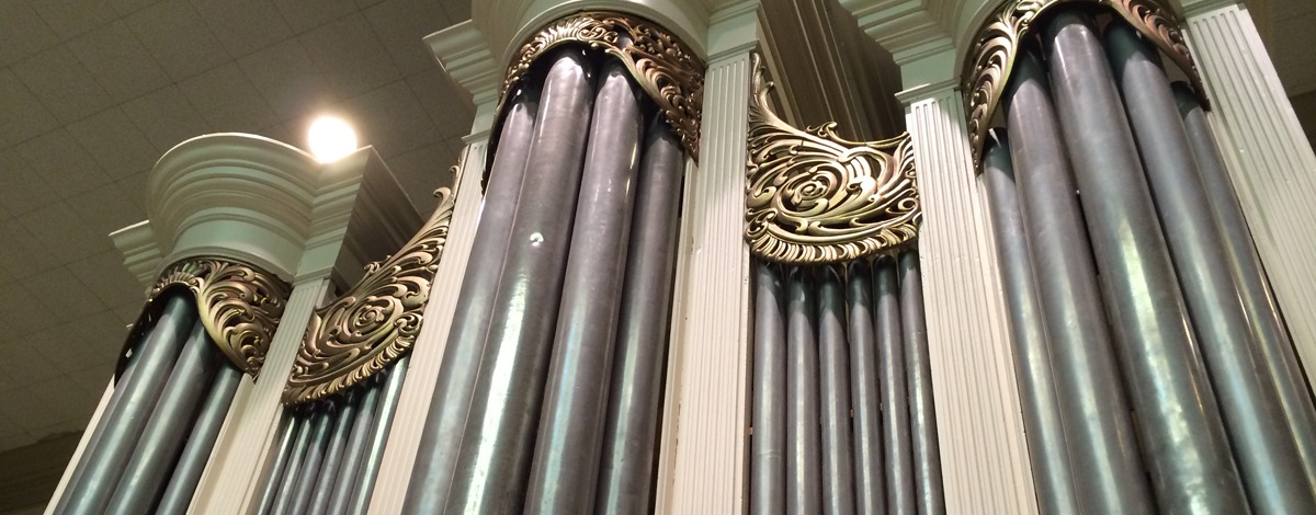SECOND SATURDAY: THE PIPE ORGANS OF DAVID TANNENBURG