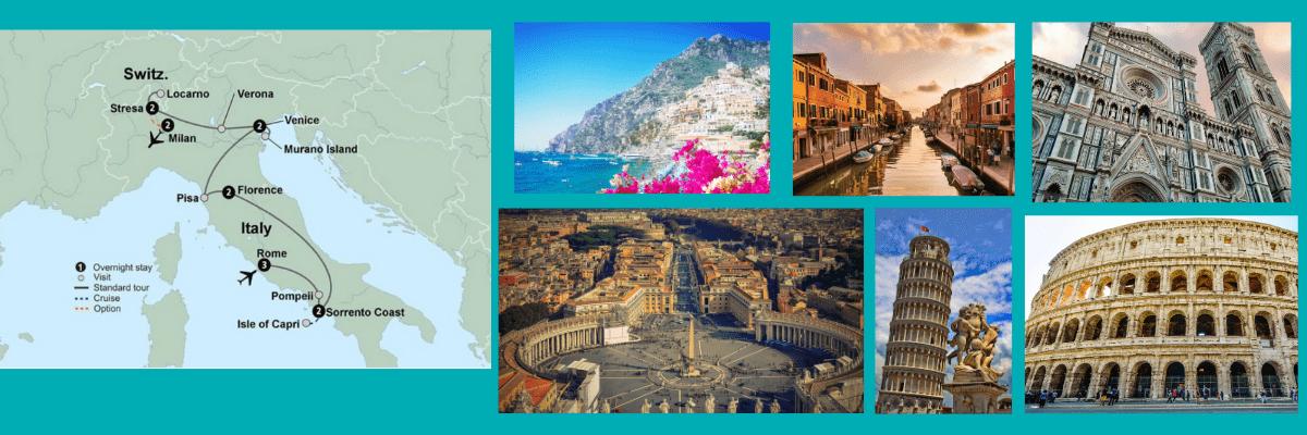 Friends Travel Presentation, Italian Vistas