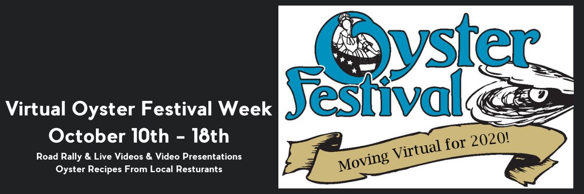 Oyster Festival is going virtual!
