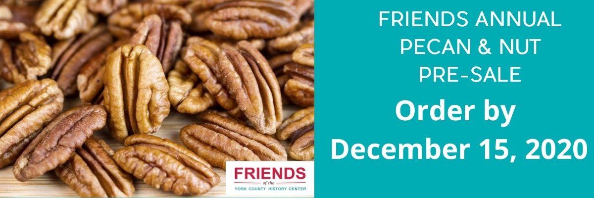 FRIENDS PECAN & NUT PRE-SALE