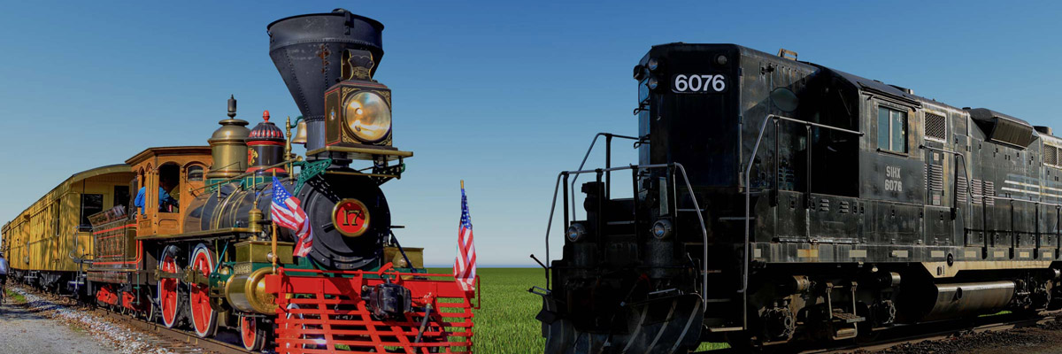 Ride the Rails with Lincoln